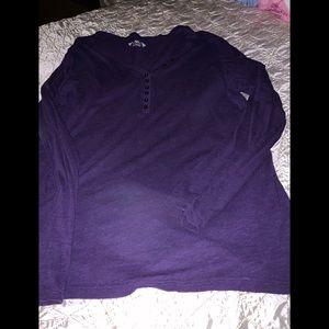 Cato -purple-long sleeves